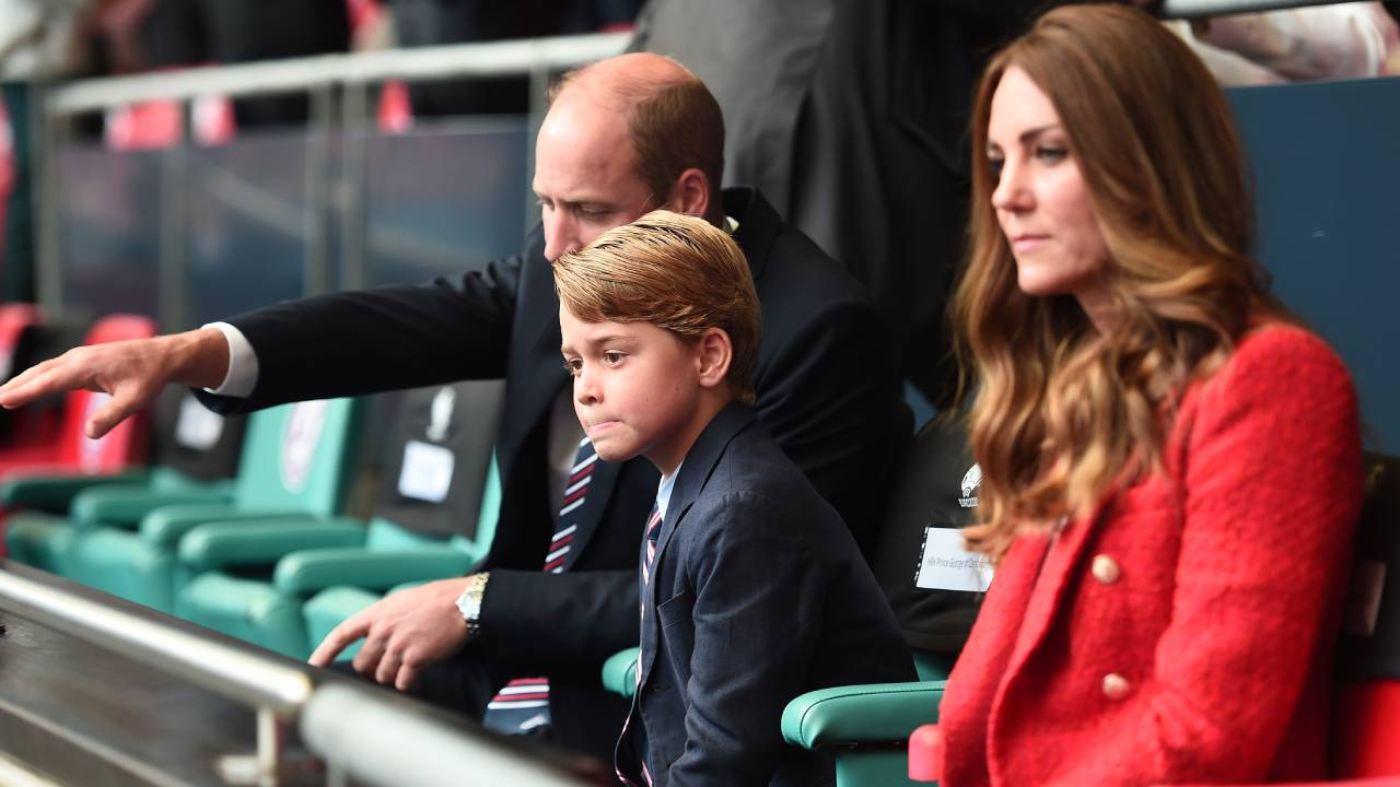 Never-before-seen footage of Prince George will warm your heart