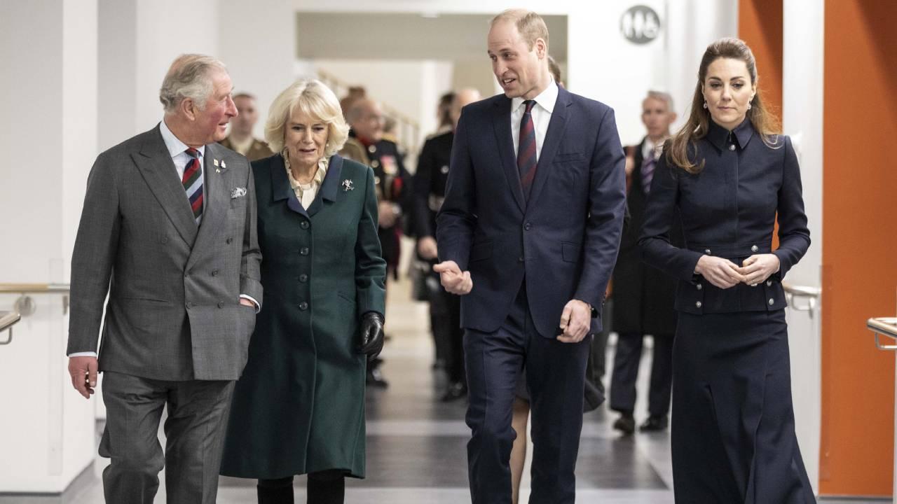 Prince William kicks off birthday tributes to Camilla