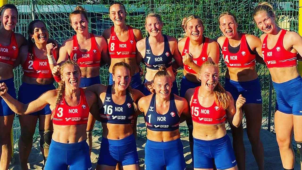 """""""Completely ridiculous"""" fine issued to Norwegian beach handball team"""