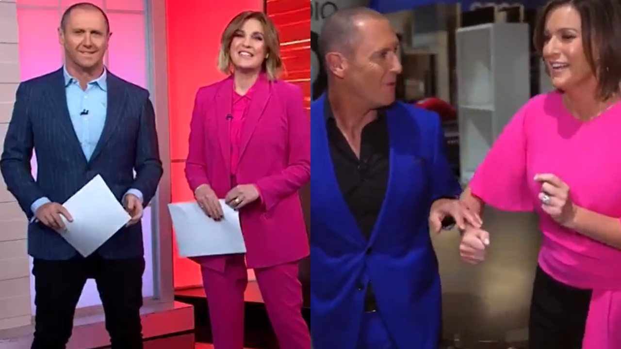 Kylie Gillies snuck onto The Chase set to surprise Larry Emdur