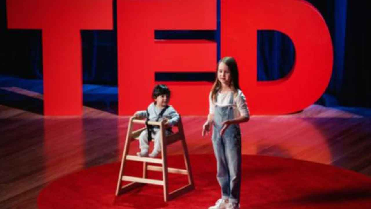 Why youngest ever TED Talker got a standing ovation