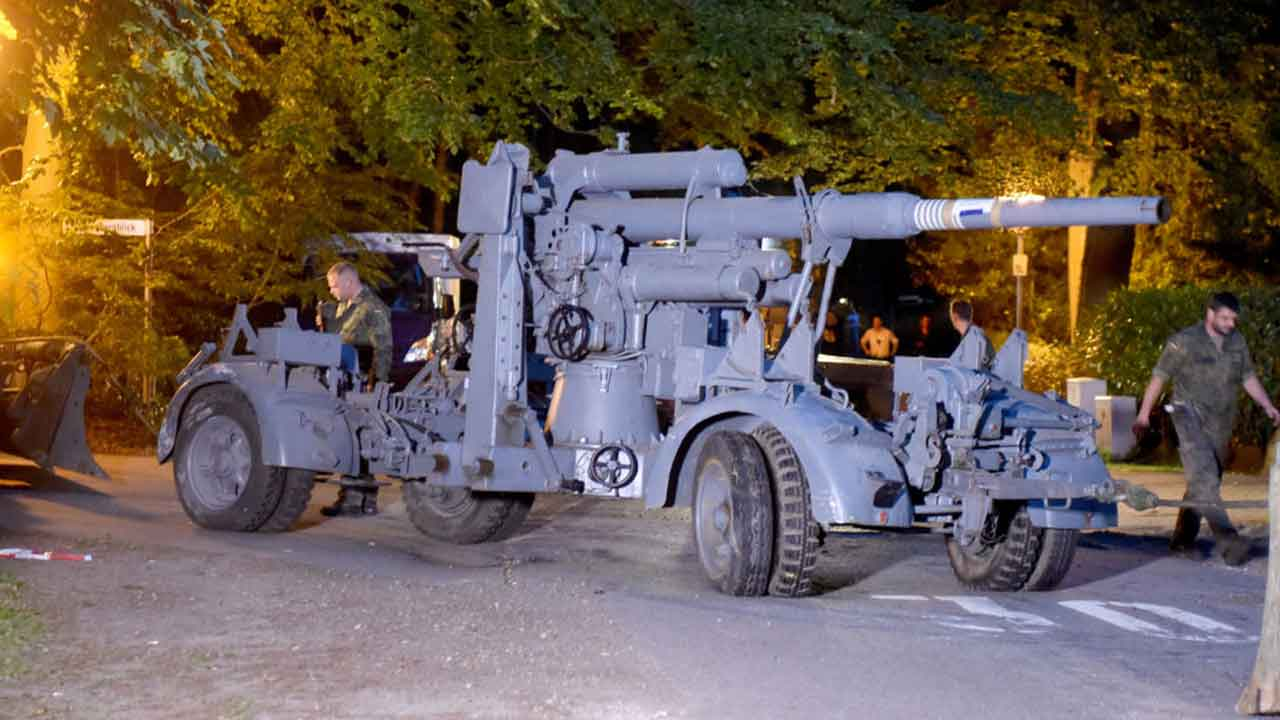 Pensioner charged over possession of World War II tank
