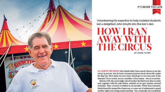 It's Never Too Late: How I Ran Away With The Circus
