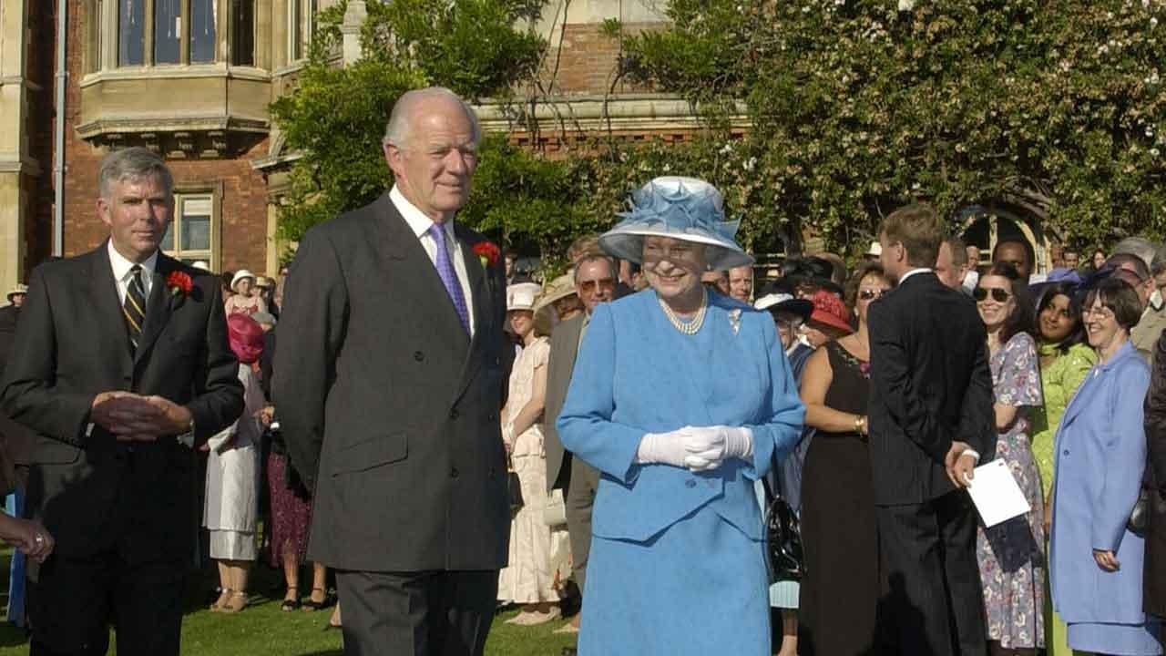 Sorrow for Queen Elizabeth as she farewells close friend