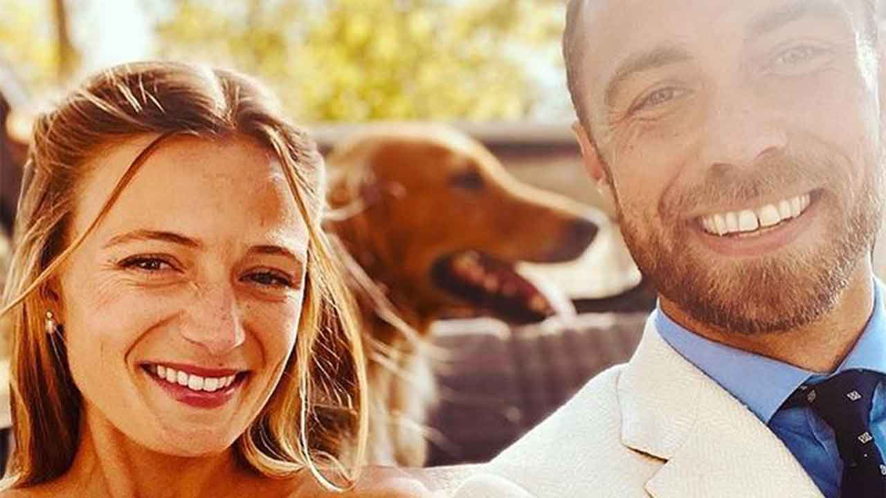 First look at James Middleton's French wedding