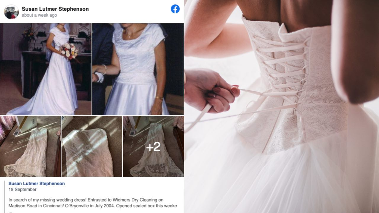 HAVE YOU SEEN THIS DRESS? Distraught bride launches worldwide hunt