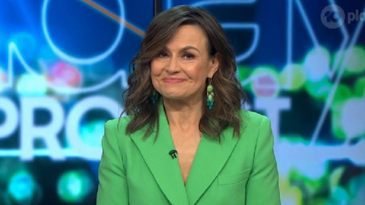 Lisa Wilkinson struggles to hold back tears on The Project