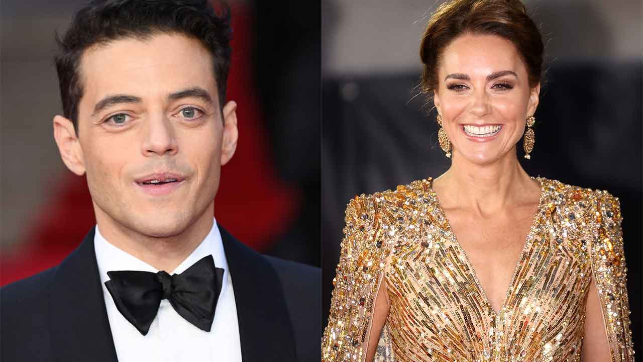 """""""I think she was taken aback"""": Rami Malek's surprising chat with Kate Middleton"""