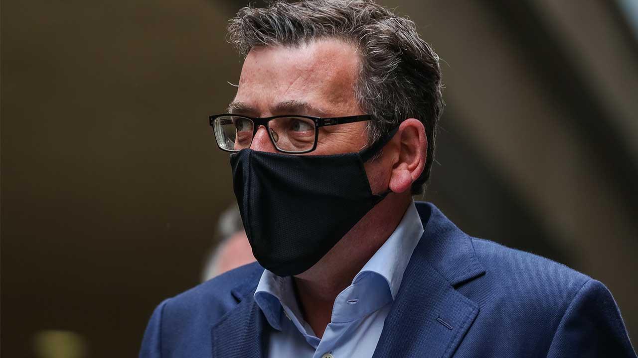Dan Andrews' classy response to no-mask fine