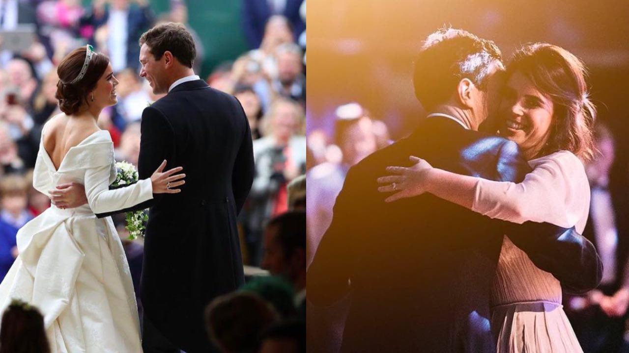 Princess Eugenie shares an unseen wedding photo