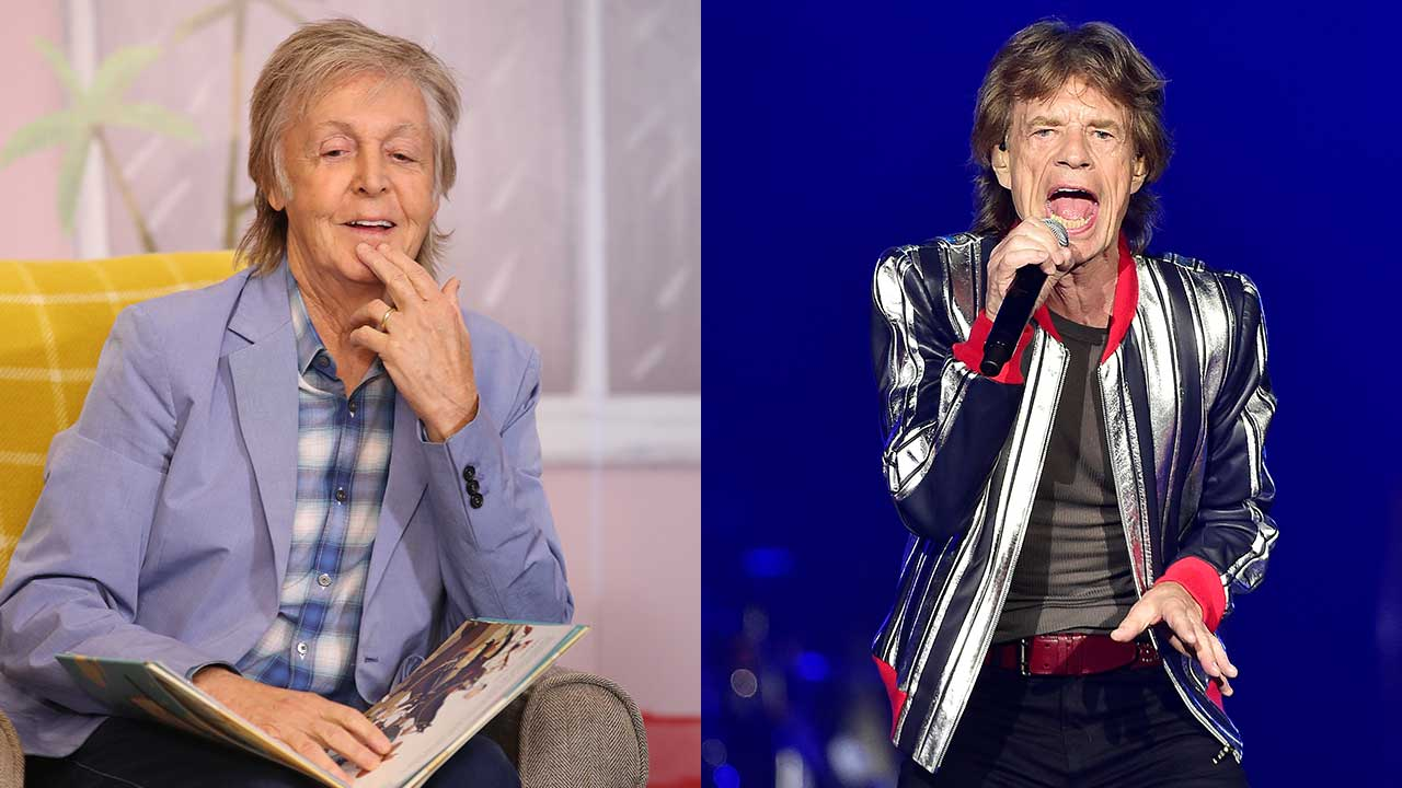 Paul McCartney takes a dig at the Rolling Stones in candid new interview